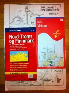 Karten Nordkyn